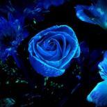 Светящиеся краски для цветов