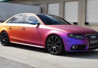 Перламутровая краска для авто