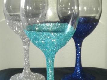 Глиттерная краска для стекла