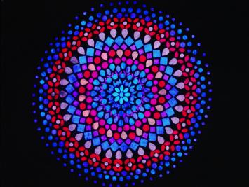 Флуоресцентная краска для камня и бетона