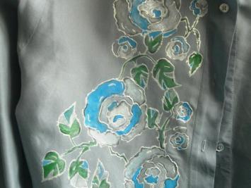 Перламутровая краска для ткани