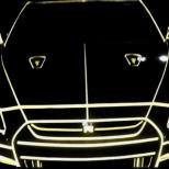 NISSAN GT-R светится в темноте