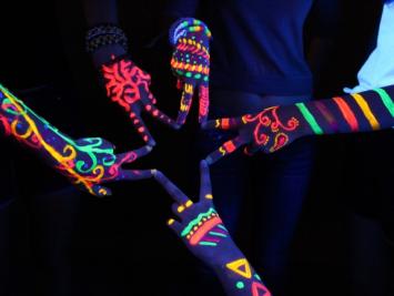 Флуоресцентная краска для боди-арта