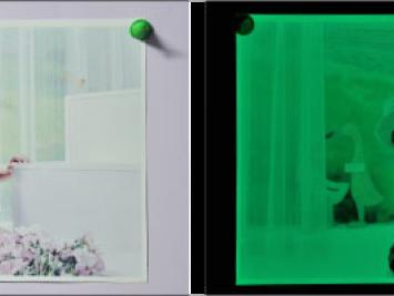 Светящаяся фотобумага